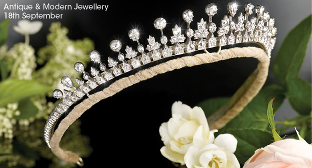 Antique Amp Modern Jewellery Exquisite Diamond Tiara