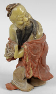 Chinese carved figure