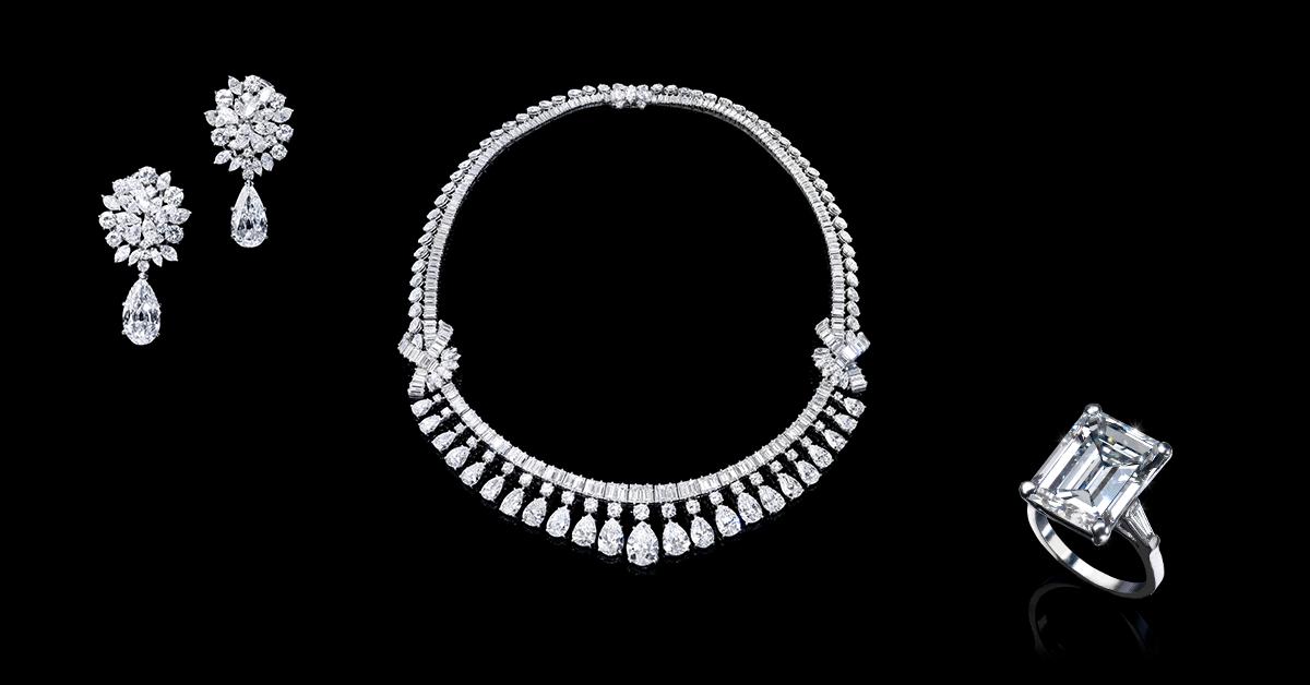 Important diamond jewellery