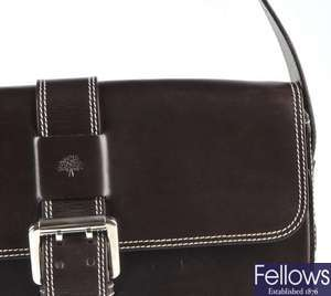 MULBERRY - a Harness leather handbag.