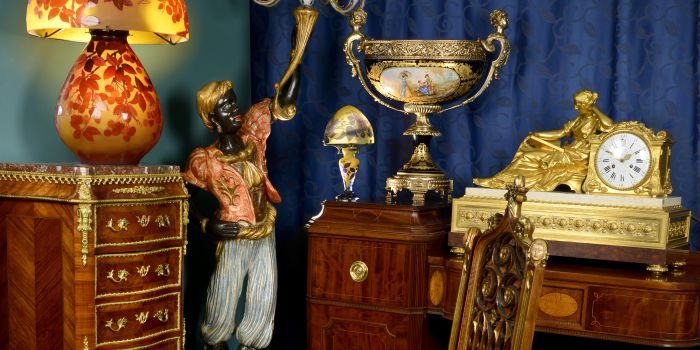 Interiors: Antiques, Silver & Collectables - Day One